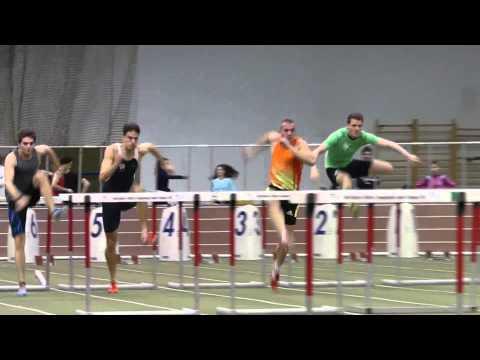 60 m férfi gátfutás döntő - lassítva