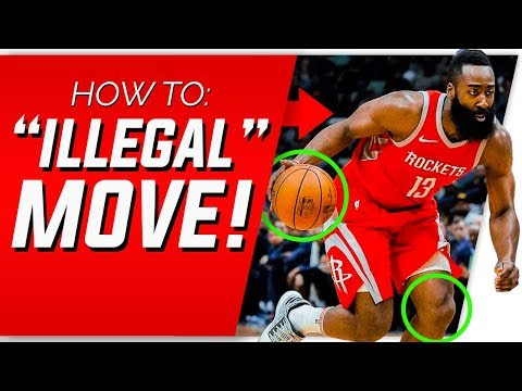 "How To Do James Harden's ""ILLEGAL"" Step Back 