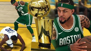 NBA 2K18 MyCAREER NBA Finals Pt.2 - ENDED KD's CAREER!! 70 POINT CAREER HIGH! ELI vs SPLASH BROS!
