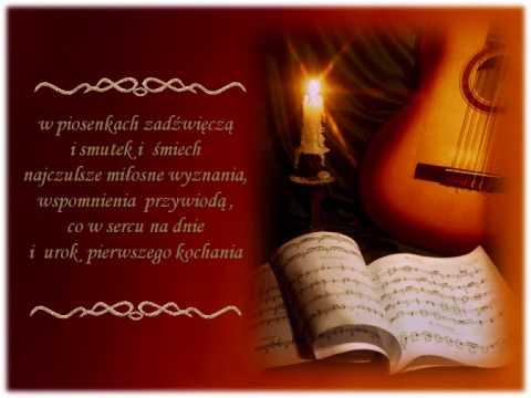 Tekst piosenki Anna German - Piosenki przy wtórze gitary po polsku