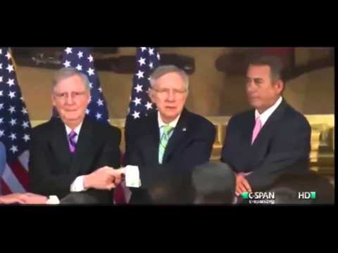 Congress Sings Kumbaya Together