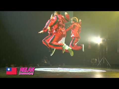 【GDC 3rd】GATSBY DANCE COMPETITION 2010-2011:ASIA GRANDFINAL/RELAX【TAIWAN】