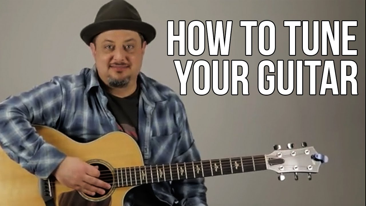 How to Tune Your Guitar For Beginners