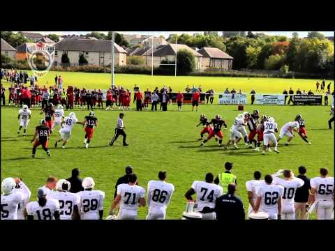 East Kilbride Pirates vs London Blitz - Semi Final Highlights