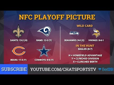NFL Playoff Picture: NFC Clinching Scenarios And Standings Entering Week 17 of 2018