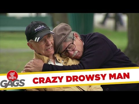 Crazy Old Man Sleeps On People - Youtube
