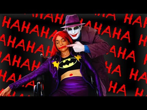 BATMAN: THE KILLING JOKE Prank at Comic Con! Ft. Joker Real Life Superhero Movie - MELF