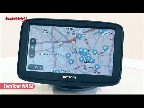Navigatore GPS TomTom Via 52 - Mappe Europa gratis