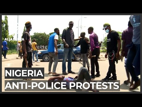 Nigeria protests continue even after gov't disbands police squad