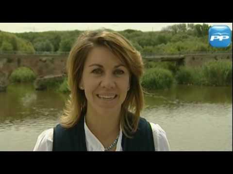 Mª Dolores de Cospedal envía un mensaje a la selección española de fútbol