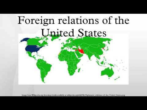 the importance of foreign relations to united states The american law institute is the leading relations of the united states or has other important foreign relations law of the united states.