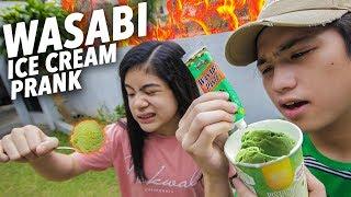 Video WASABI ICE CREAM PRANK ON SISTER!! | Ranz and Niana MP3, 3GP, MP4, WEBM, AVI, FLV Mei 2019
