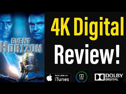 Event Horizon (1997) 4K Dolby Vision Digital Review!