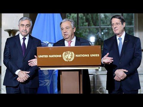 Ιδέες για να προχωρήσει η διαπραγμάτευση θα καταθέσουν  Αναστασιάδης και Ακιντζί…
