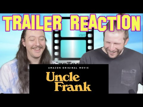 Uncle Frank Trailer Reaction   Amazon Prime Video #UncleFrank #PaulBettany