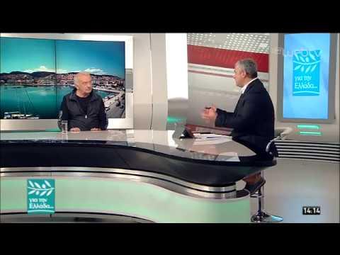 Ο Δημήτρης Στεργίου- Καψάλης στον Σπύρο Χαριτάτο | 23/05/19 | ΕΡΤ