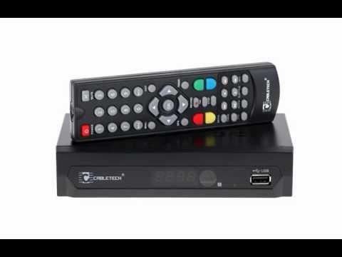 Tuner cyfrowy DVB-T MPEG-4 HD do telewizji naziemnej Cabletech URZ0194