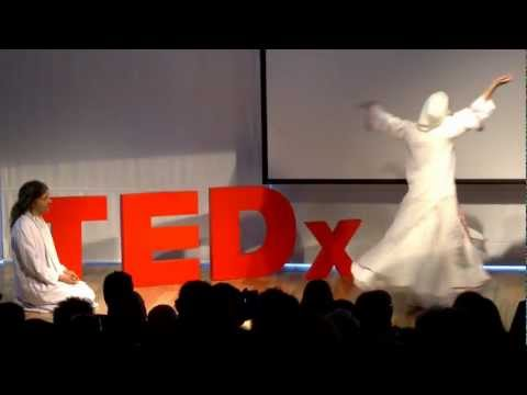 Whirling Dervish: The Mystical Dance Of The Sufis: Ora And Ihab Balha At TEDxJaffa