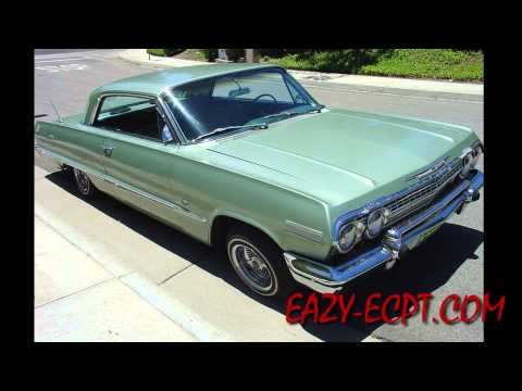 Exclusive! Rare! Eazy-E's 1963 Impala Resurfaced! #eazye