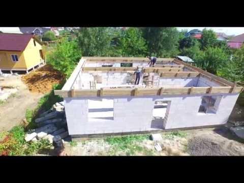 Строим дом из пеноблоков своими руками поэтапно