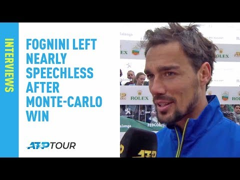 Fognini Left Speechless After Winning Maiden Masters 1000 Title In Monte-Carlo 2019