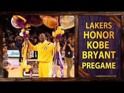 Jordan - Watch Kobe Bryant as he's honored at Staples Center with his family for passing Michael Jordan on the NBA's All-Time scoring list. Join the Largest Lakers Fan Site in the World http://LakersNation...