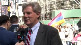 Interview with Congressman Frank Pallone at 101st Commemoration of Armenian Genocide
