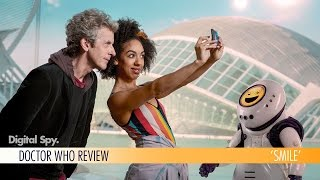 Digital Spy TV editor Morgan Jeffery reviews the latest episode of Doctor Who, the Frank Cockrell-Boyce penned adventure 'Smile', which sees The Doctor and Bill explore an abandoned human colony guarded by Emoji Bots.Follow Digital Spy on Twitter at http://twitter.com/digitalspyLike Digital Spy on Facebook at http://fb.com/digitalspyuk