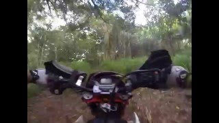1. Beta 525 RS and KTM 450 afternoon ride  6-4-13 #6