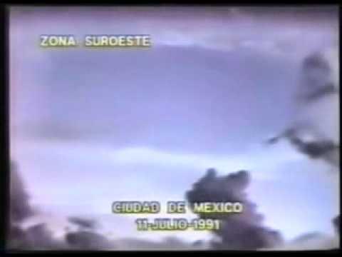 città del messico 11 luglio 1991 - intrusi dal cielo