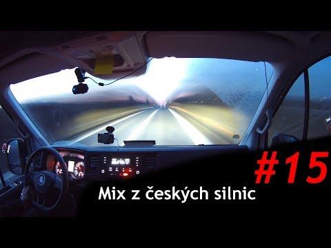 Mix z českých silnic - 15 | Sbírka nehod, divných semaforů a SUV se veze kolonou