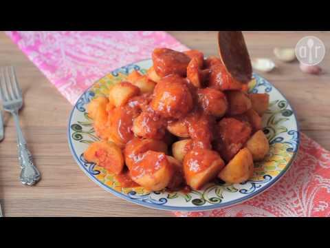 chitita batata - patate piccanti al pomodoro (cucina algerina)