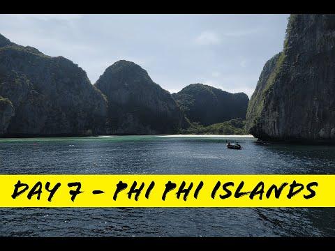 Thailandia 2020 - Day 7 PHI PHI ISLANDS видео