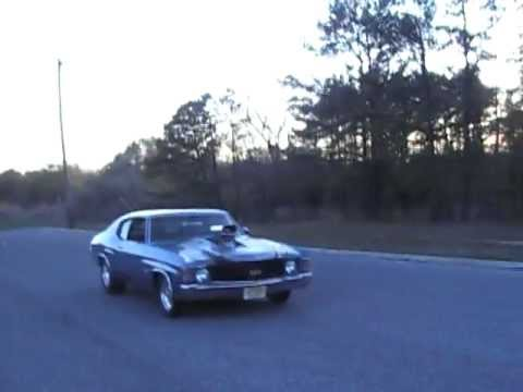 1972 Chevelle SS burnout