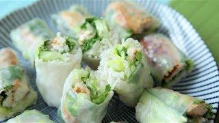 Sajgonki - wiosenne spring rolls z makrelą