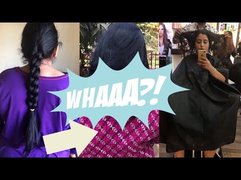 Short haircuts - Mom In Law's Long To Short Hair Cut   My New Hair Cut Vlog