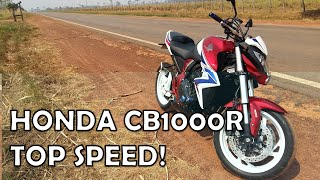 1. Top Speed Honda CB1000R Marcha a Marcha!