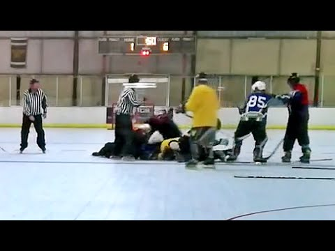 ROLLER HOCKEY FIGHT / BRAWL – 5/2/2012