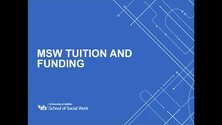 MSW Tuition and Funding