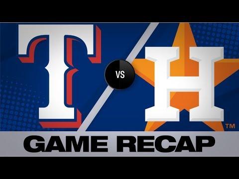 Video: Brantley homers twice, Astros sweep Rangers | Rangers-Astros Game Highlights 7/21/19