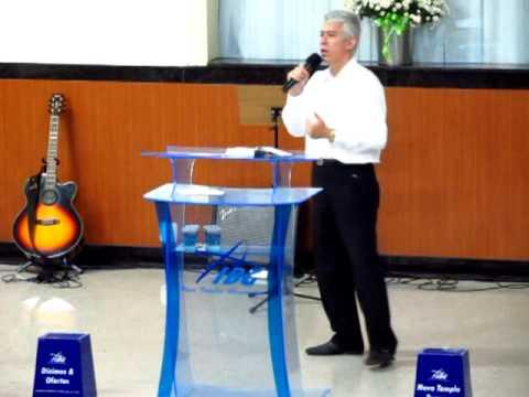Culto de cura interior na 1ª Igreja Batista em Guarapari com o Pr. Marcelo Aguiar