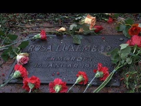 Gedenkfeier: 100 Jahre Mord an Rosa Luxemburg und Kar ...