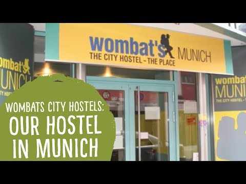 Video Wombats City Hostel Munichsta