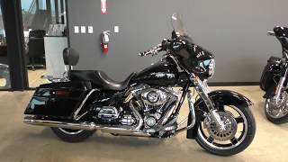 6. 631124   2010 Harley Davidson Street Glide   FLHX Used motorcycles for sale