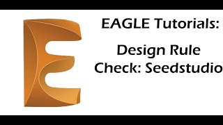 How to verify that your pcd design is compliant with your pcb manufacturer (Seedstudio).
