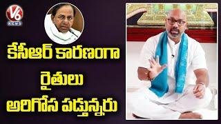 BJP MP Dharmapuri Aravind Slams CM KCR Over Farmers Problems