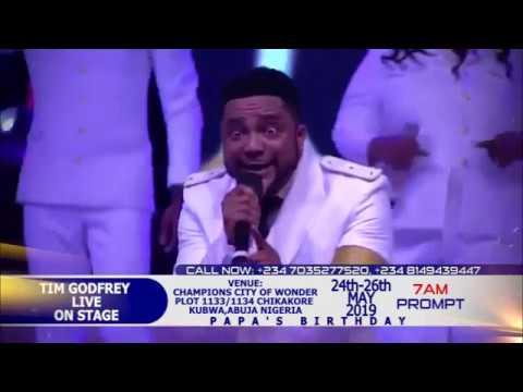 JOSHUA IGINLA Feat. TIM GODFREY, SAMSONG and others at his Birthday 2019