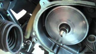 2. Yamaha Zuma BWs125 Leo Vince Scoot Exhaust Variator Weight Install Part 2