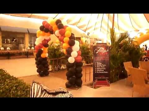 How to Plan Best Jungle Zoo Birthday Theme in Lahore Pakistan.