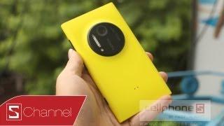 Schannel -Đánh giá chi tiết camera, thiết kế... Lumia 1020 - CellphoneS